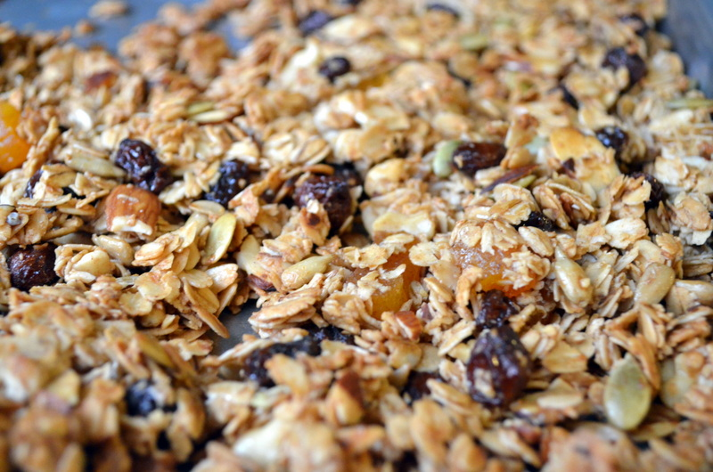 Golden Brown Granola