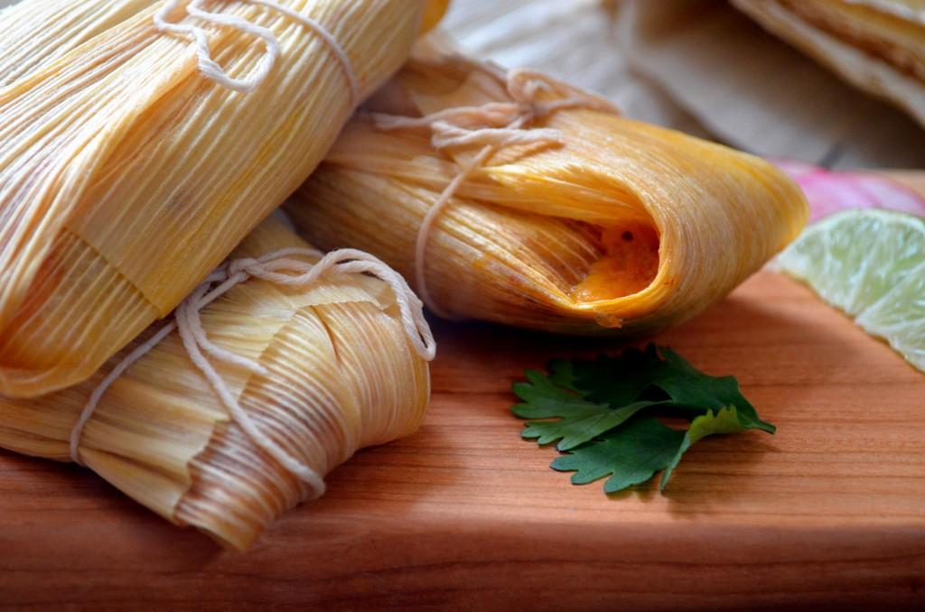 Tamales in Husk