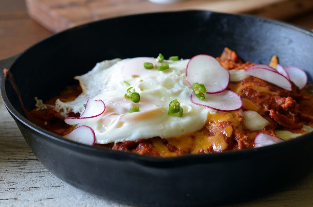 Chilaquiles With Homemade Tortilla Chips | Dinner with Aura