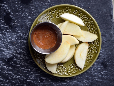 Roasted Almond Butter With Apples