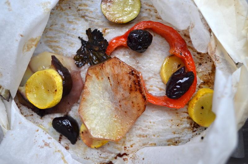 Crispy Potatoes en Papillote